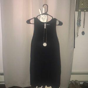 Little black cotton dress